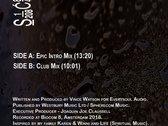 """Vince Watson's """" Teardrops """" 12inch Vinyl Release photo"""