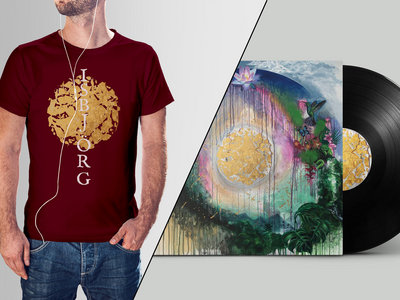 Iridescent LP + T-shirt bundle main photo