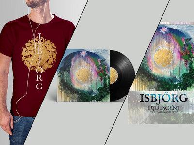 Iridescent LP + T-shirt + poster main photo