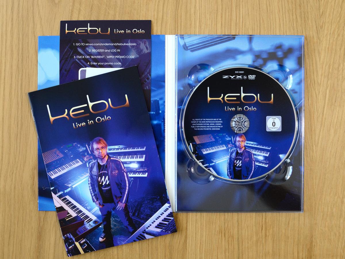 Kebu - Live in Oslo - DVD (download included) | Kebu