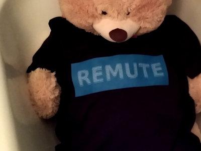 Remute Logo T-Shirt *L* *BLACK* main photo