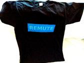 Remute Logo T-Shirt *L* *BLACK* photo