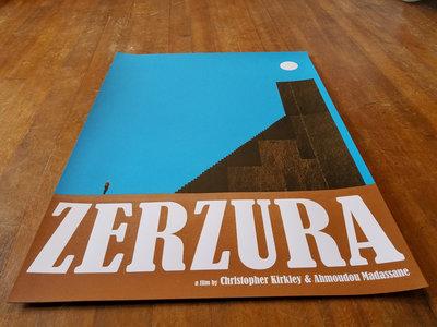 Zerzura limited screenprinted poster main photo