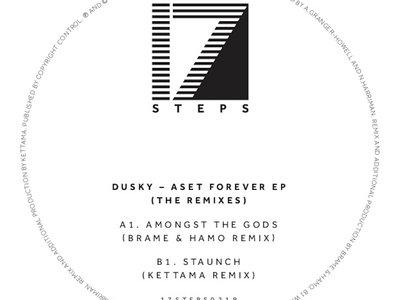 "Dusky - Aset Forever (Brame & Hamo and KETTAMA Remixes) - 12"" vinyl Record Store Day 2019 main photo"