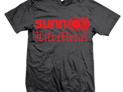 Life Metal Logo T-Shirt main photo