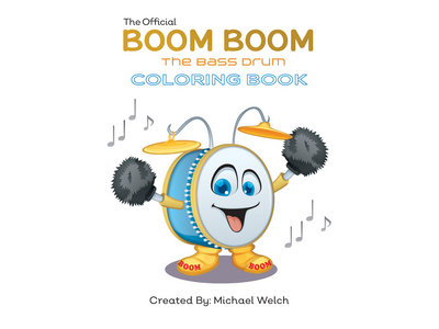 Boom Boom the Bass Drum - Coloring Book - Characters main photo