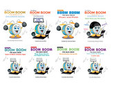 Boom Boom the Bass Drum - Coloring Book - Characters photo