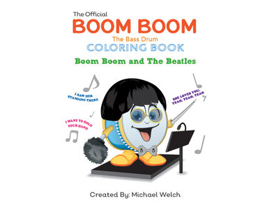 Boom Boom the Bass Drum - The Beatles Coloring Book main photo