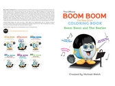 Boom Boom the Bass Drum - The Beatles Coloring Book photo