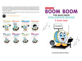 Boom Boom the Bass Drum - I Love Jazz - Coloring Book photo