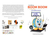 Boom Boom the Bass Drum - Instruments of the Orchestra - Coloring Book photo