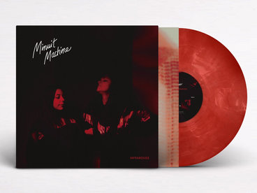 """Limited edition 12"""" Red Transparent with White Streaks Vinyl main photo"""