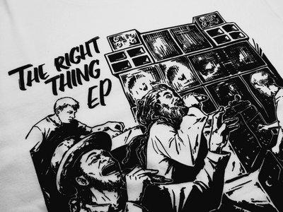 The Right Thing T-shirt - Unisex - White main photo