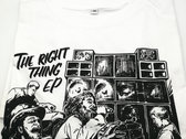 The Right Thing T-shirt - Unisex - White photo