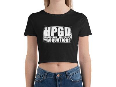 HPGD Logo Women's Black Crop Top main photo