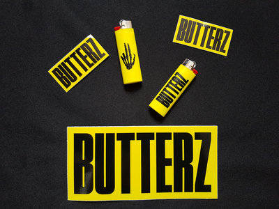 2x Butterz Lighters + Assorted Sticker pack *UK ONLY* main photo