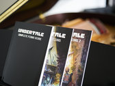 UNDERTALE Complete Piano Score (Physical Sheet Music Book) photo