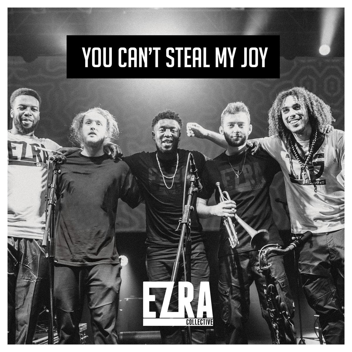 Resultado de imagen de ezra collective lp you can't steal my joy