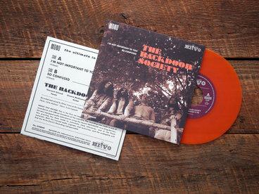 "7"" Orange vinyl, single, limited edition 150 copies main photo"