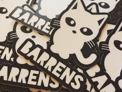 BARRENS Kitty Logo Sticker main photo