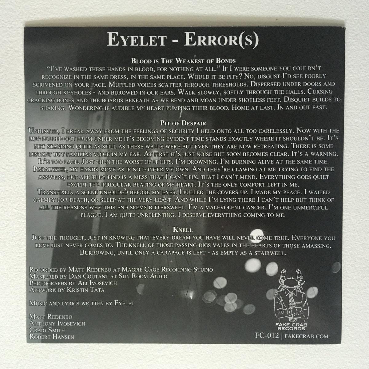 error(s) | eyelet