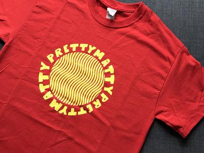 Red Waves T Shirt main photo
