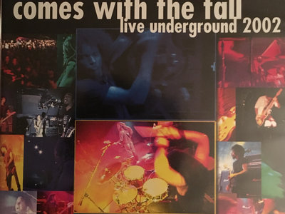 """Live Underground 2002"" Tour Documentary Film - Original 2003 First Pressing - EXTREMELY LIMITED QUANTITY! main photo"