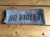 No Violet Logo T-shirt - Small photo