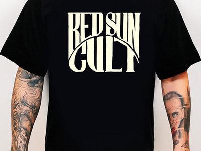 Red Sun Cult Traditional Logo Black Shirt main photo