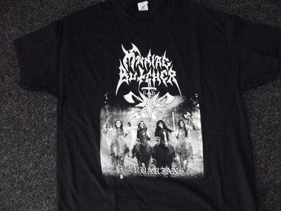 "Maniac Butcher ""Barbarians"" t-shirt main photo"