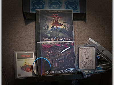 #HiddenUnderground Mega Bundle - x2 CD's, Collectible Cards, FaceMask, Wrist Band main photo