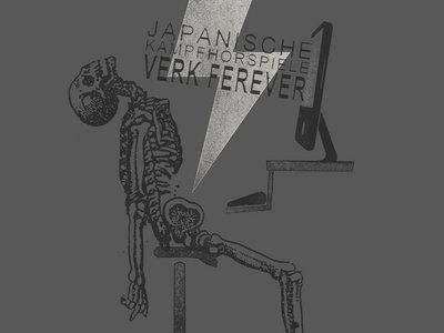 JAPANISCHE KAMPFHÖRSPIELE t-shirt VERK FEREVER charcoal main photo