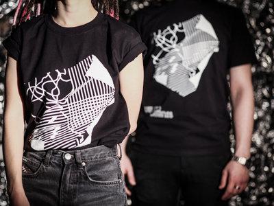Velcrocranes T-shirt black (male & female) main photo