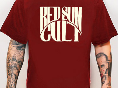 Red Sun Cult Traditional Logo Red Shirt main photo