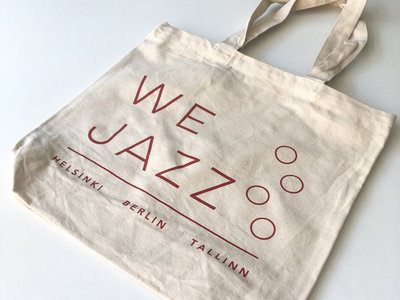 "We Jazz Record Bag (""Helsinki / Berlin / Tallinn"" 2019 edition) main photo"