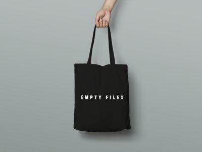 EMPTY FILES BLACK TOTE main photo