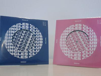 "BUNDLE: DIE DAS DER Singles Club 7"" Vinyl - Volumes 01 & 02 (DDD02V + DDD05V) - OFFER! main photo"