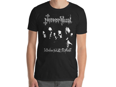 Horror Vacui - In Darkness You Will Feel Alright T-Shirt main photo