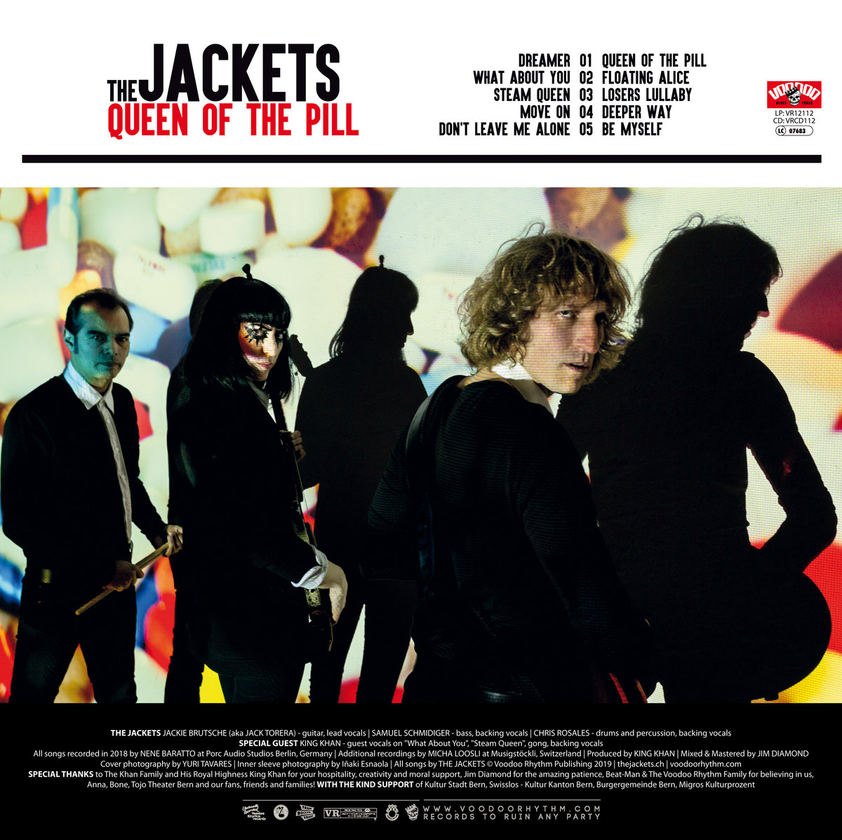Queen Of The Pill | The Jackets