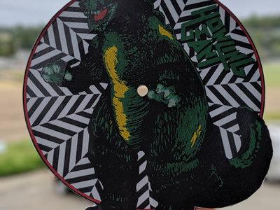 """7"""" Lathe Cut Godzilla Picture Disc main photo"""