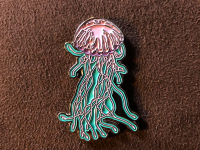 Jellyfish Enamel Pin main photo