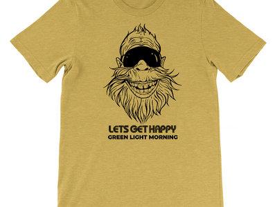 Sasquatch - Let's Get Happy T-Shirt main photo