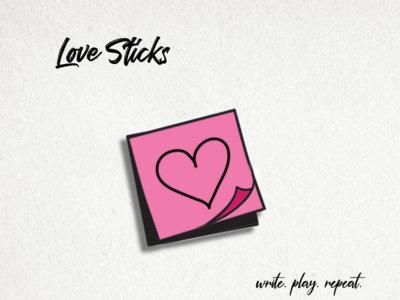 Love Sticks - Enamel Pin main photo