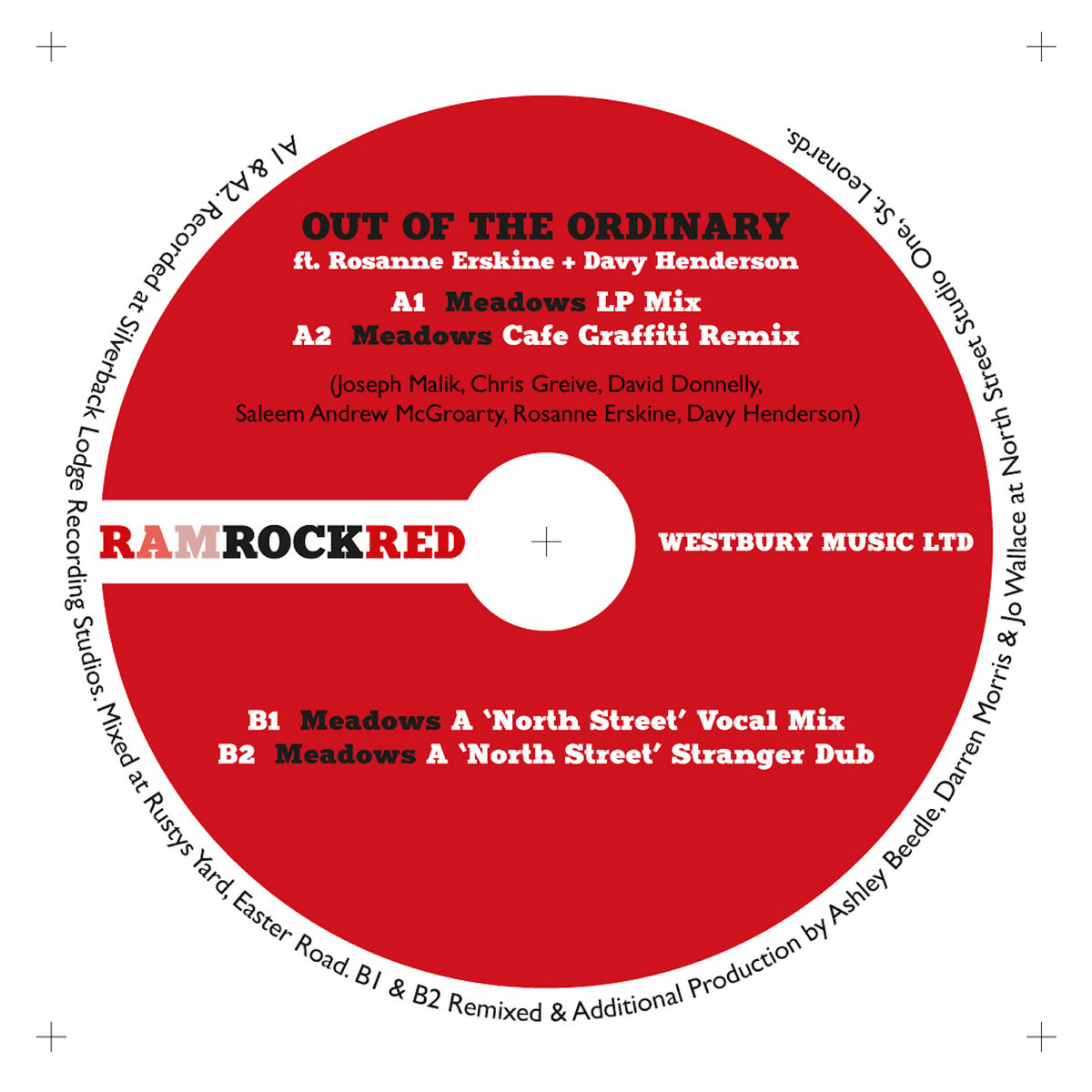 RRR007 - Meadows EP - Out of the Ordinary | Ramrock