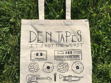 Den Tapes Tote Bag main photo