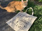 Den Tapes Tote Bag photo