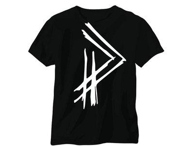 "Post Pulse White ""PP"" Logo Shirt & Pin main photo"