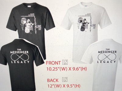 Legacy Alive CD T-Shirt main photo