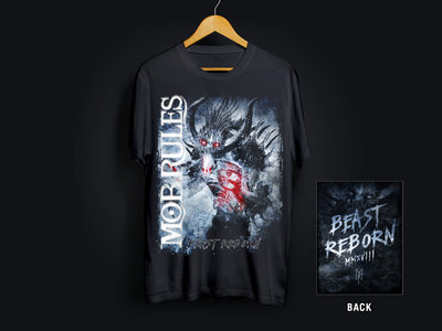 "MOB RULES | Shirt ""Beast Reborn"" Frost* main photo"