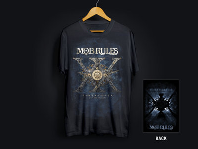 "MOB RULES | Shirt ""T I M E K E E P E R"" main photo"